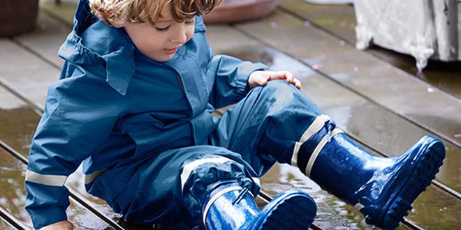 Çocuk Yağmur Tulumu ve Çocuk YağmurPantolonu